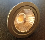 LED-Spot 5W = 45W, 2700K, MR16, 12V, COB Technik