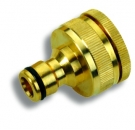 "Gartenschlauch-Adapter 3/4 ""X1"", messing"